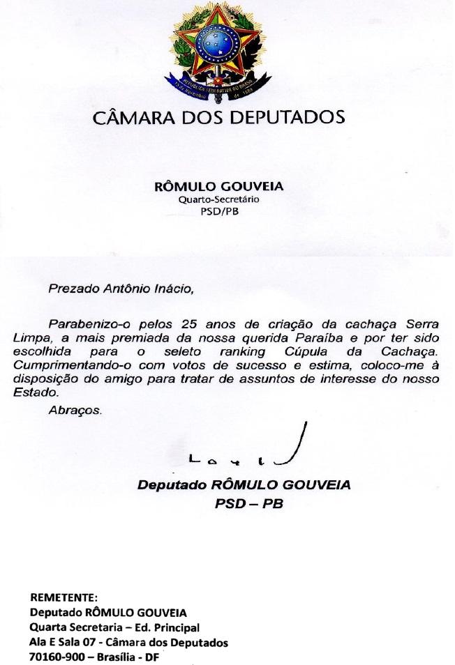 carta_Romulo_Gouvei_pelos_25anos_da_SerraLimpa